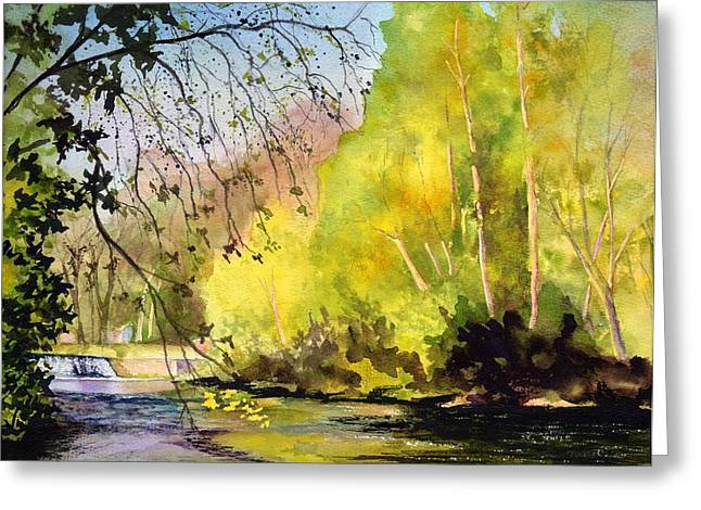 Tohickon Creek Bucks County Pa Greeting Card by Paul Temple