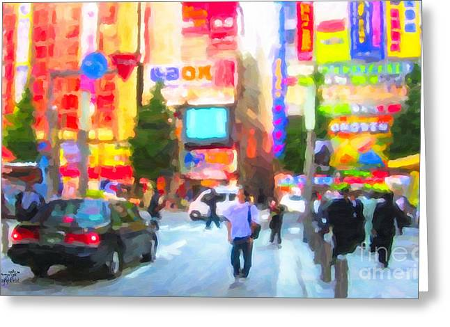Tokyo Greeting Card by Chris Armytage
