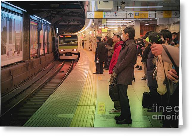 Tokyo Metro, Japan Greeting Card