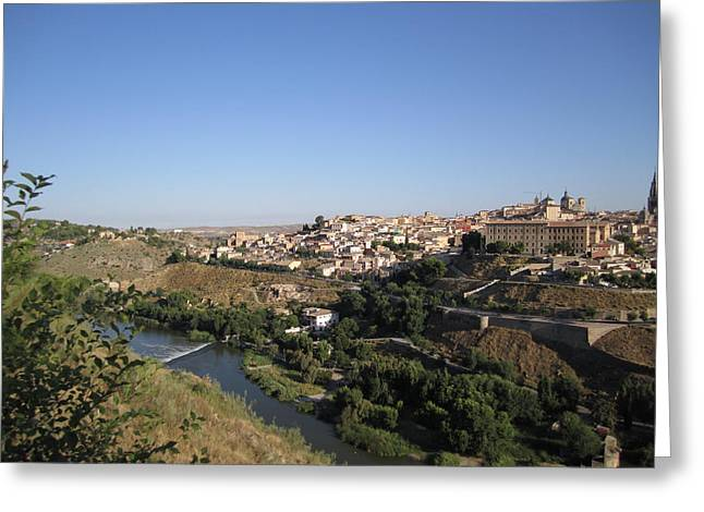 Toledo And The Country Side Greeting Card