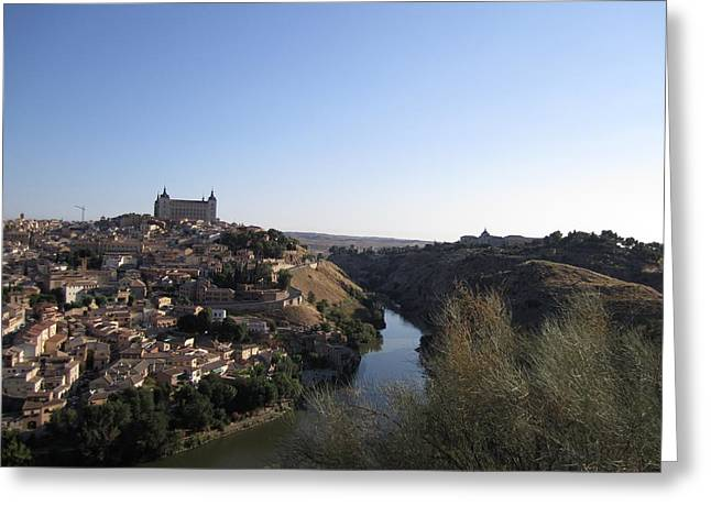 Toledo Hillside Greeting Card