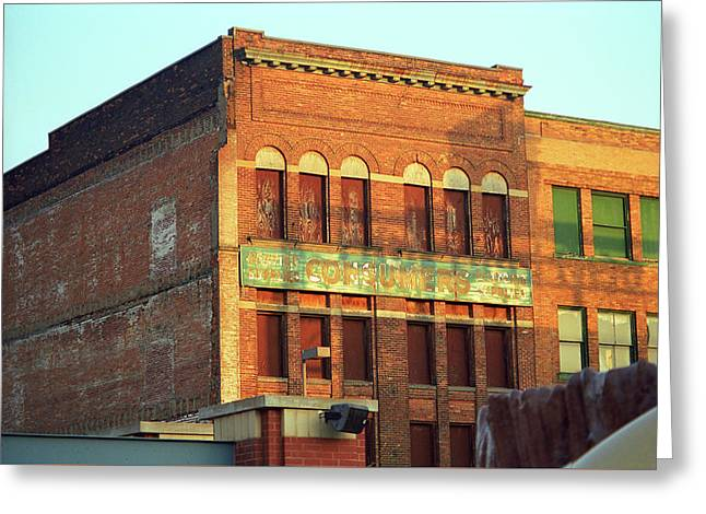 Toledo, Ohio - Downtown 3 Greeting Card by Frank Romeo