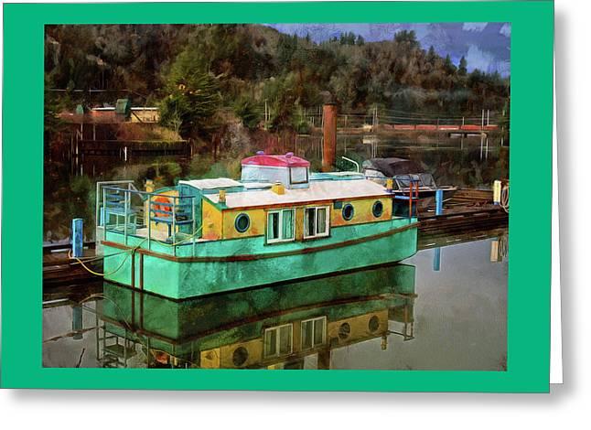 Toledo Showboat Greeting Card