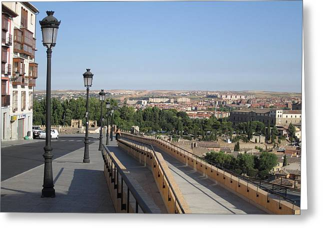 Toledo Walkway II Greeting Card