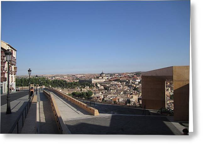 Toledo Walkway Greeting Card
