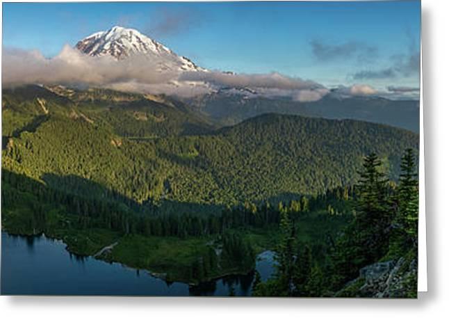 Tolmie Peak Viewpoint Greeting Card by Ken Stanback