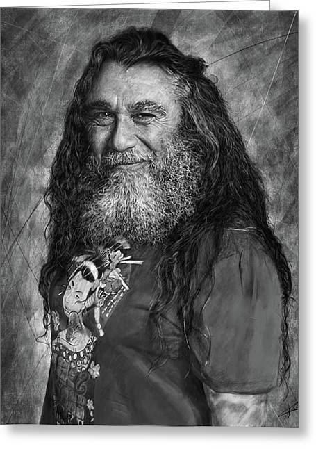 Tom Araya 2 Greeting Card