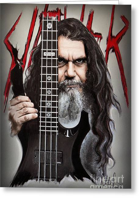 Tom Araya Greeting Card