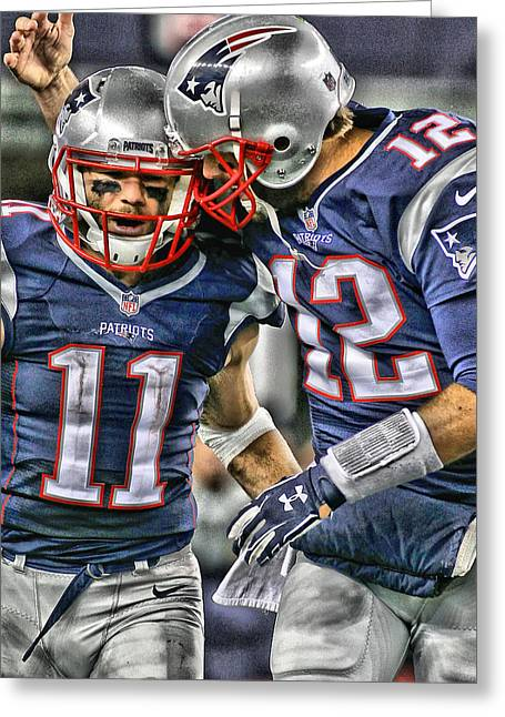 Tom Brady Art 1 Greeting Card