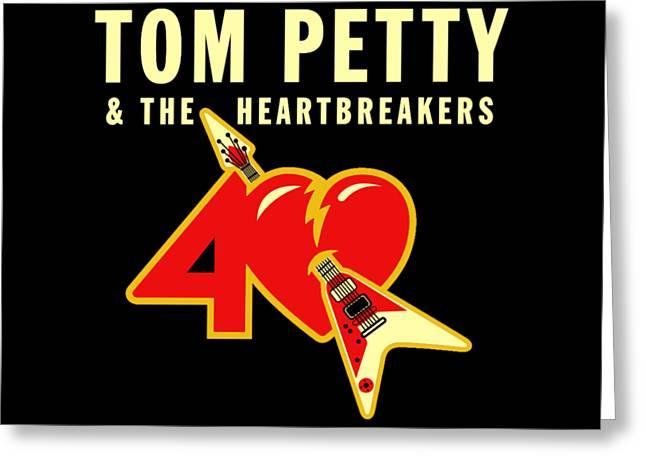 Tom Petty 40th Anniversary Greeting Card