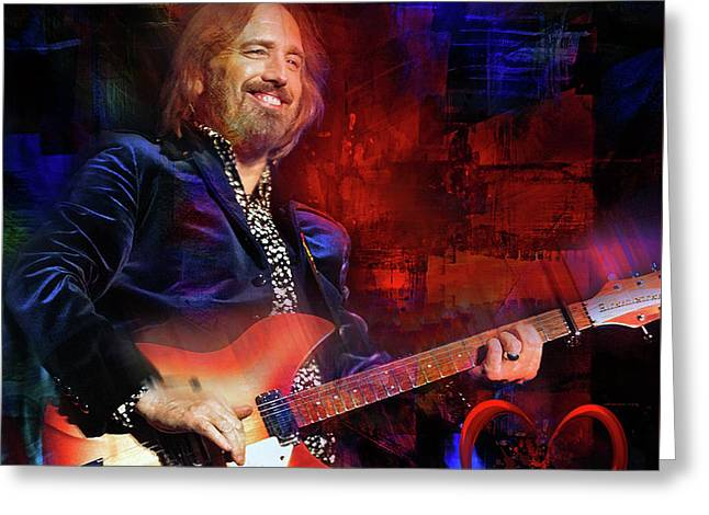 Tom Petty And The Heartbreakers Greeting Card