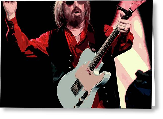 Tom Petty, Hypnotic Eye Greeting Card