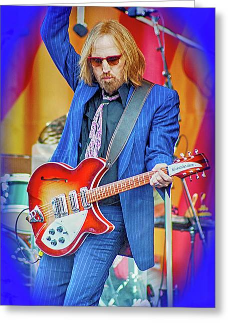 Tom Petty, I Wont Back Down Greeting Card
