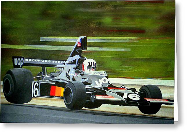 Tom Pryce Greeting Card