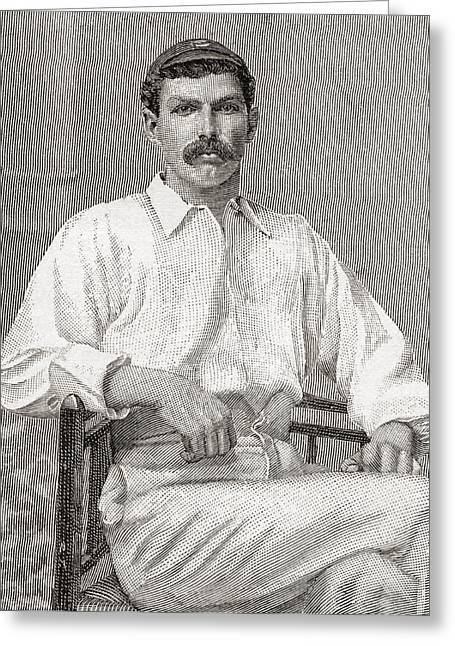 Tom Richardson, 1870 Greeting Card by Vintage Design Pics