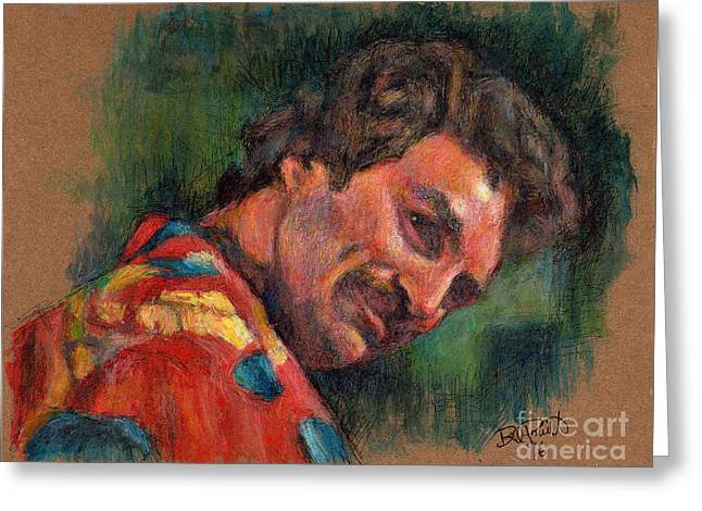 Tom Selleck - Magnum P.i. Greeting Card