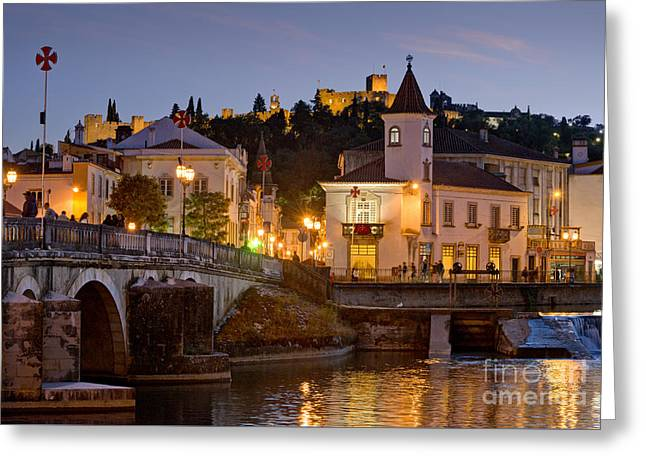 Tomar Dusk Greeting Card by Mikehoward Photography