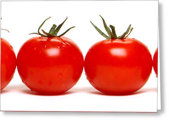 Tomato Row Greeting Card
