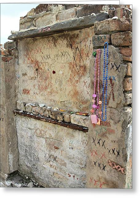 Tomb Of The Unknown Voodoo Priestess Greeting Card