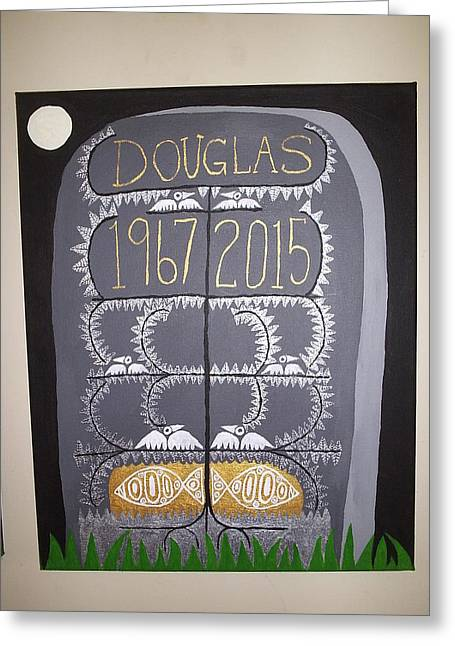 Tombstone 2 Greeting Card by William Douglas