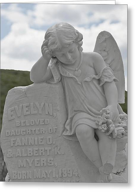 Tombstone Angel For An Angel Greeting Card