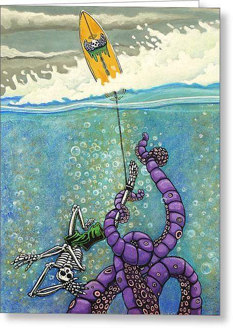 Tombstone Greeting Card by Jacob Medina