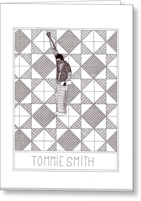 Tommie Smith Greeting Card