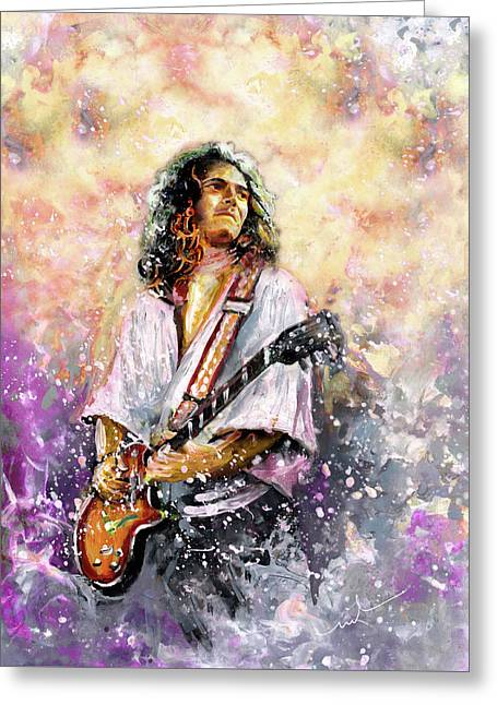 Tommy Bolin Greeting Card
