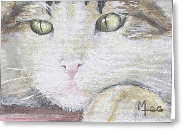 Tommy Greeting Card by Mary-Lee Sanders