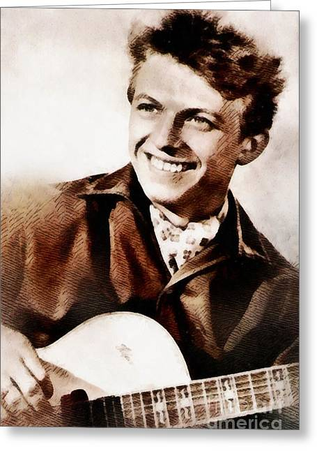 Tommy Steele, British Actor And Singer Greeting Card