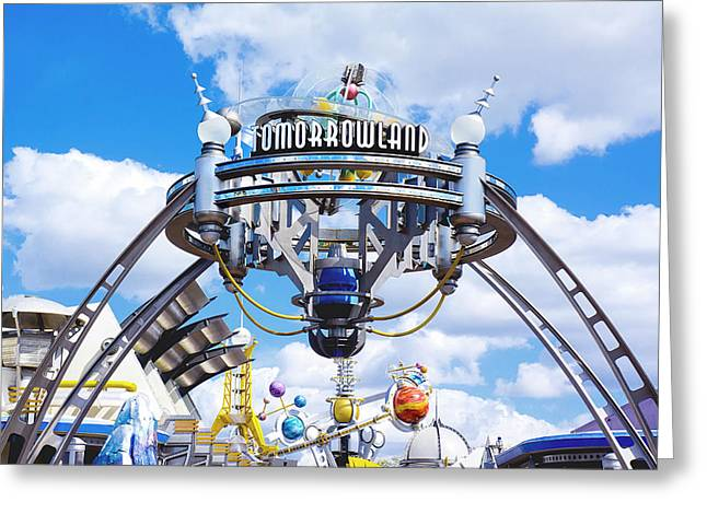 Tomorrowland Greeting Card by Greg Fortier