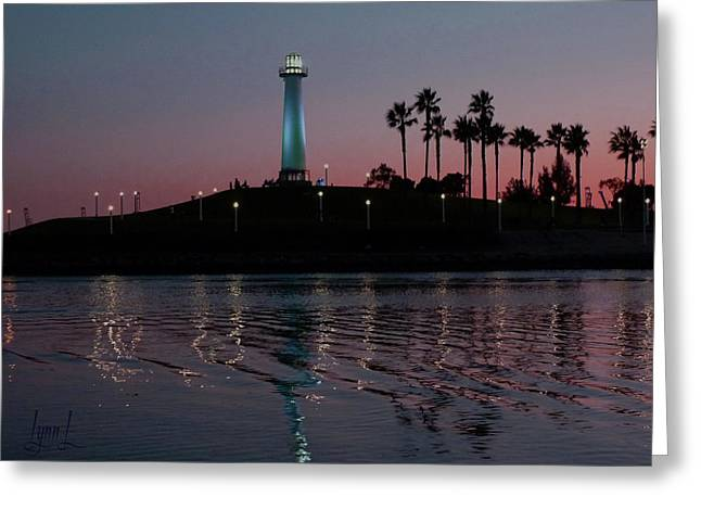 Tones In Twilight Greeting Card by S Lynn Lehman