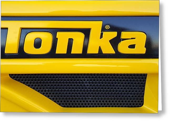 Tonka Truck Logo Greeting Card