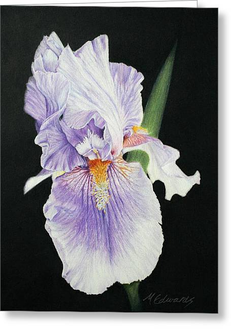 Tonto Basin Iris Greeting Card