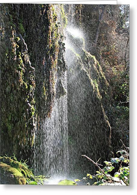 Tonto Waterfall Splash Greeting Card