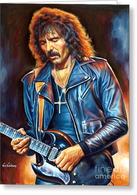 Tony Iommi - Black Sabbath Greeting Card