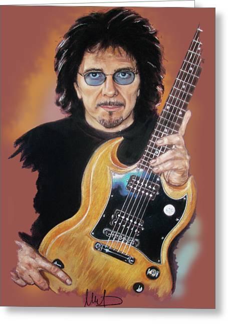 Tony Iommi Greeting Card