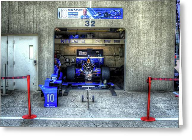 Tony Kanaan Indy Greeting Card