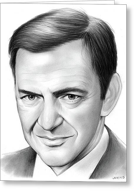 Tony Randall Greeting Card
