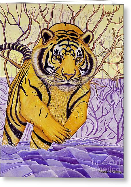 Tony Tiger Greeting Card