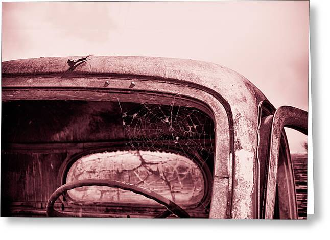 Too Old To Drive Greeting Card by Mary Hone
