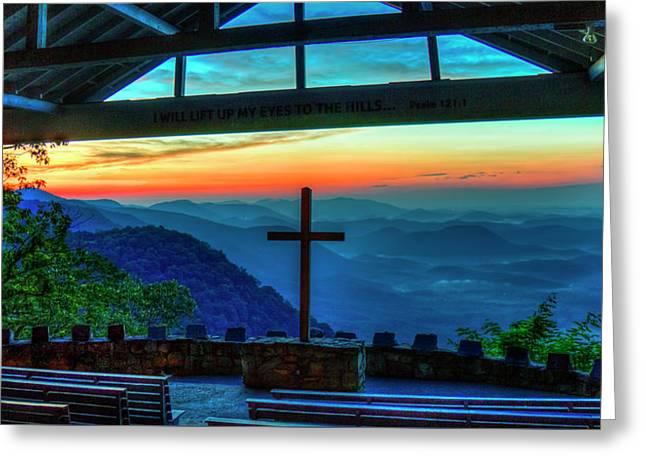 Too Pretty Symmes Chapel Pretty Place Chapel Greenville South Carolina Art Greeting Card