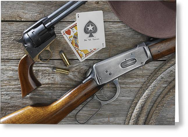 Jerry West Greeting Cards - Tools of the Trade Greeting Card by Jerry McElroy