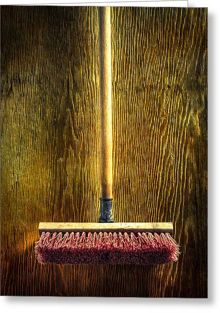 Tools On Wood 26 Greeting Card by YoPedro