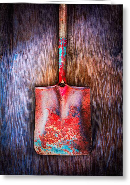 Tools On Wood 47 Greeting Card by YoPedro
