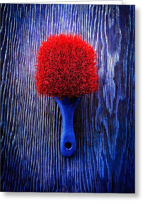 Tools On Wood 57 Greeting Card by YoPedro