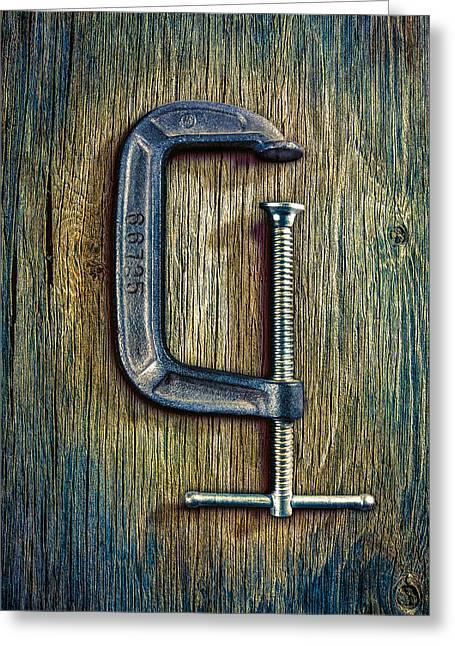 Tools On Wood 68 Greeting Card