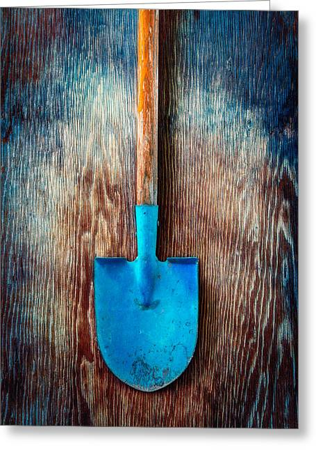 Tools On Wood 72 Greeting Card by YoPedro