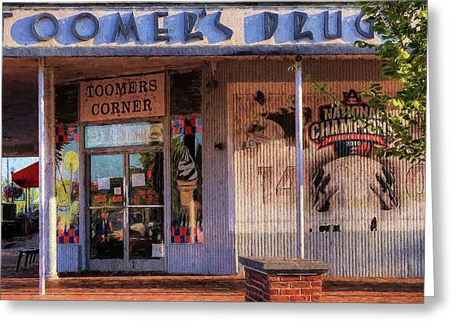 Toomer's Drugs Greeting Card by JC Findley