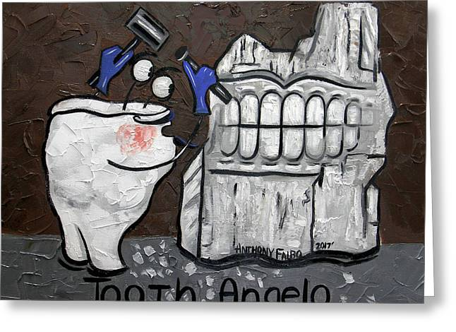 Tooth Angelo Greeting Card